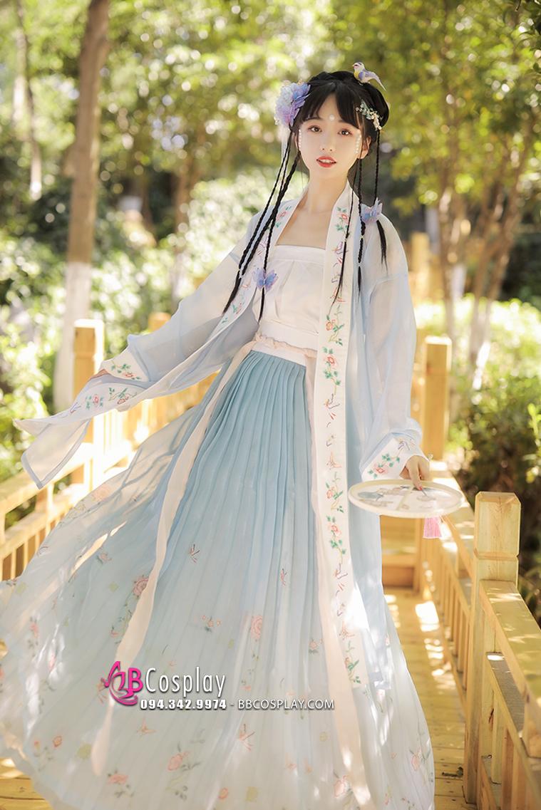 Hán Phục Huỳnh Vũ Bạch Lam