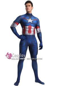 Trang Phục Captain America Độn Thun Bốn Chiều