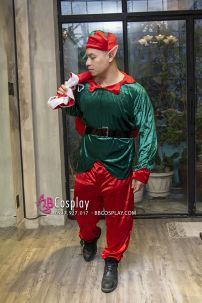 Đồ Yêu Tinh Noel Vải Nhung