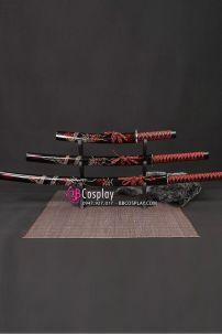 Bộ 3 Kiếm Nhật Samurai Có Họa Tiết Nhiều Loại
