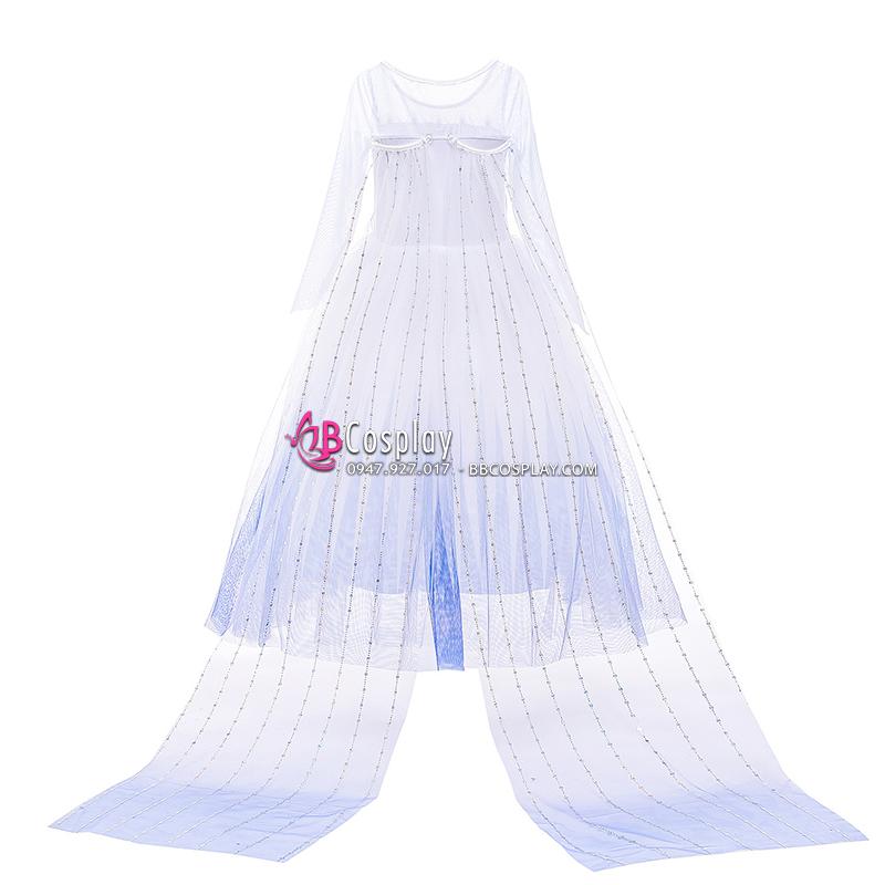 Đầm Elsa Trẻ Em 2020
