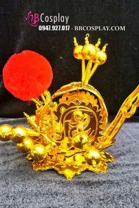 Mão Kinh Kịch Thái Tử - Mão Tề Thiên - Màu Vàng