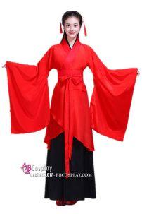 Cổ Trang Nhà Tần Áo Đỏ Váy Đen Giá Rẻ