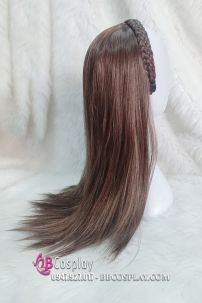 Cài Tóc Thắt Bím Có Tóc Nữa Đầu 60cm