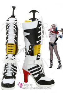 Giày Harley Quinn Size 37