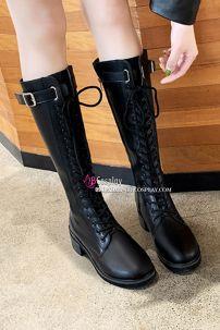 Giày Boot Nữ Cổ Cao Size 38/39