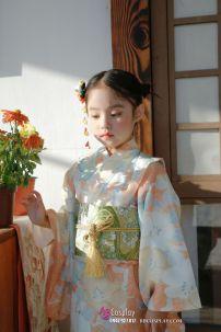 Kimono Bé Gái Chuẩn Nhật