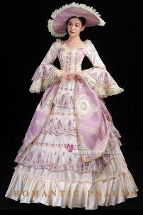 Đầm Châu Âu Vintage 15th Century