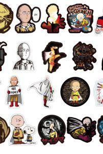 Bộ Sticker Hình One Punch Man - Bộ 70 Cái