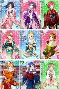 Trang Phục Love Live (Kimono)