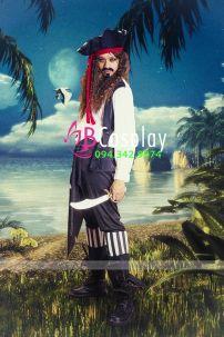 Trang Phục Nam Hải Tặc 3 (Jack Sparrow - Cướp Biển Vùng Caribe)