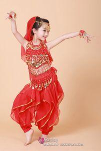 Trang Phục Belly Dance Trẻ Em Size 100cm