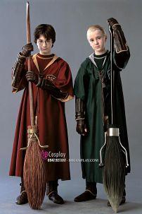 Áo Choàng Harry Potter Slytherin & Gryffindor