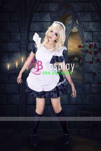 Trang Phục Maid Zombie (Nàng Hầu Ma)