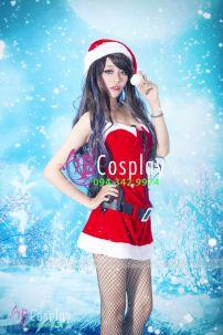 Đầm Noel Sexy Gợi Cảm