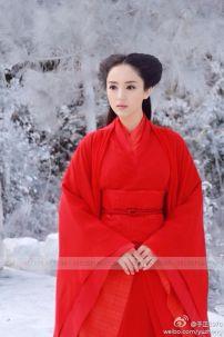 Đồ Cổ Trang Lâm Triều Anh Phim Thần Điêu Đại Hiệp 2014