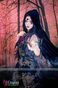 Trang Phục Nữ Phù Thuỷ Bóng Đêm