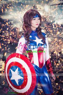 Trang Phục Captain American Nữ 2
