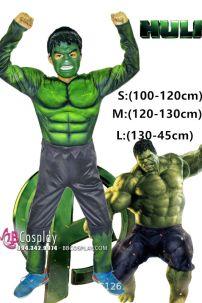 Đồ Hulk Người Khổng Lồ Xanh Trẻ Em