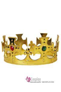 Vương Miện Hoàng Tử Nhựa Vàng