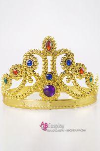 Vương Miện Nhựa Nữ Hoàng Vàng