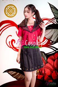 Trang Phục Nữ Sinh Nhật Touken Uniform 1