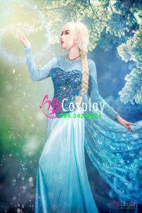 Trang Phục Nữ Hoàng Băng Giá Elsa Có Size Lớn