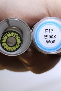 Kính Áp Tròng Nâu Sói Đen (F17 - Black Wolf)