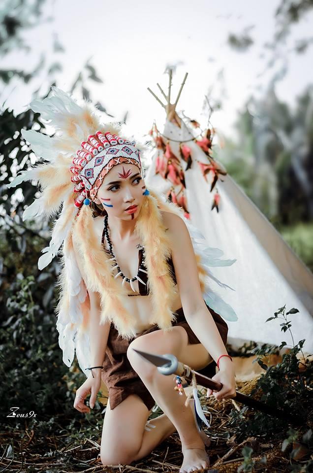 Trang Phục Nữ Thổ Dân 11
