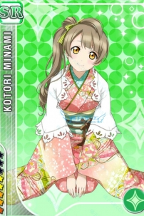 Kimono Kotori Minami - Love Live