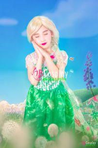 Trang Phục Elsa Mùa Hè (Trẻ Em)