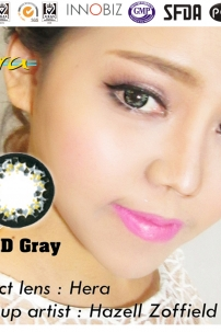 Kính Áp Tròng Xám - Gray (EXD310)