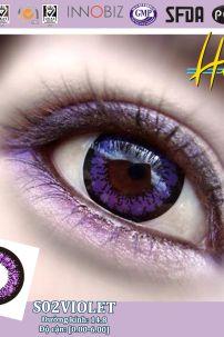 Kính Áp Tròng Tím - Violet (Big S2-002)