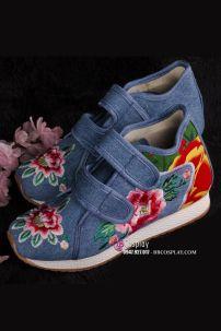 Giày Thêu Trẻ Em Size 33