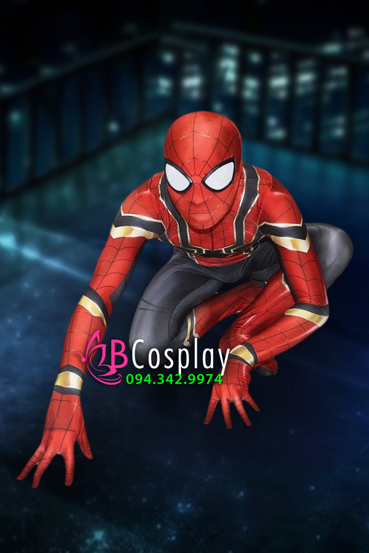 Trang Phục Người Nhện 2018 Spider Man - Avenger Infinity War