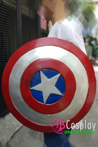 Khiên Captain America Hợp Kim Lớn 60cm - Tỉ Lệ 1:1