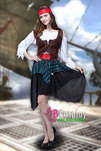 Trang Phục Nữ Hải Tặc 9