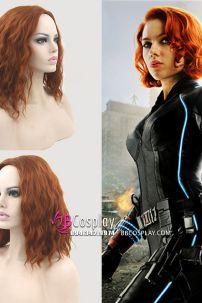 Tóc Giả Black Widow - Avenger 1