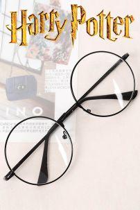 Mắt Kính Harry Potter Gọng Kim Loại Có Tròng