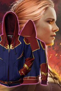 [Size L] Áo Khoác Captain Marvel