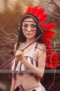 Trang Phục Nữ Thổ Dân 1