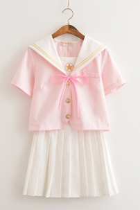Đồng Phục Cosplay Nữ Sinh Sakura