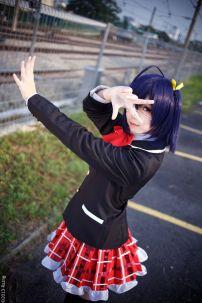 Đồng Phục Học Sinh Cosplay Rikka