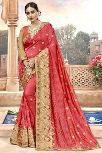 Saree Đồ Ấn Cam 2 - Trang Phục Ấn Độ Cam 2