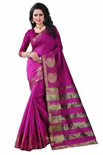 Sari Ấn Độ - Đồ Ấn Độ Hồng 3 - Trang Phục Ấn Độ Cam 3