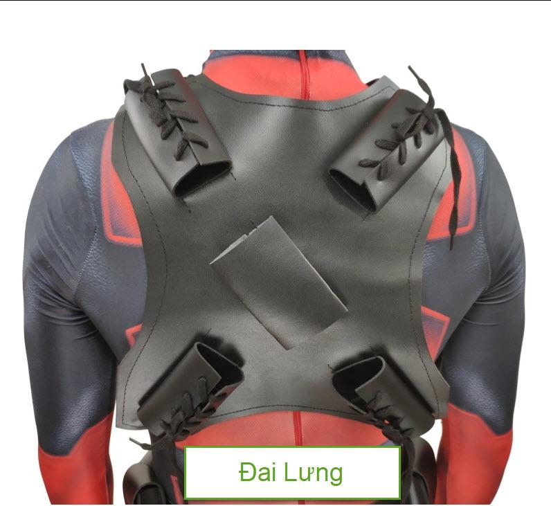 Trang Phục Deadpool In 3D Cơ Bản