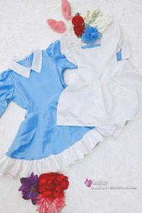 Đầm Maid Alice Kèm Tạp Dề Cho Bé
