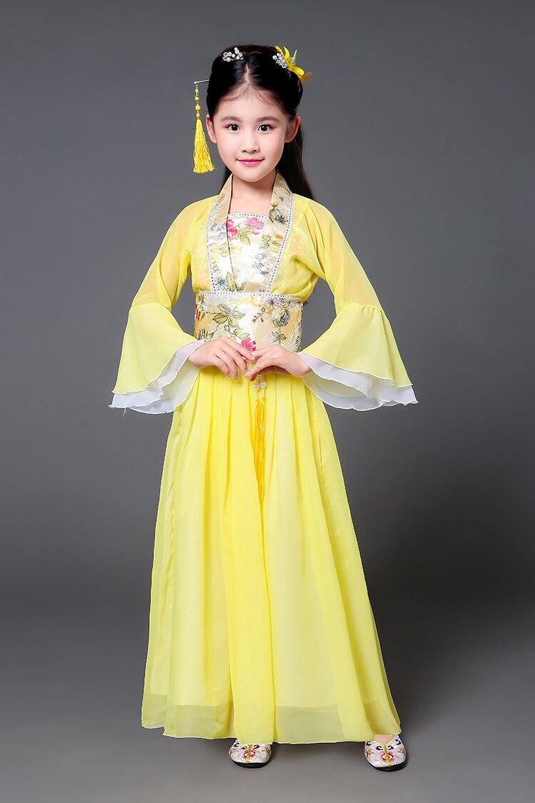 Cổ Trang Hằng Nga Cho Bé Vàng