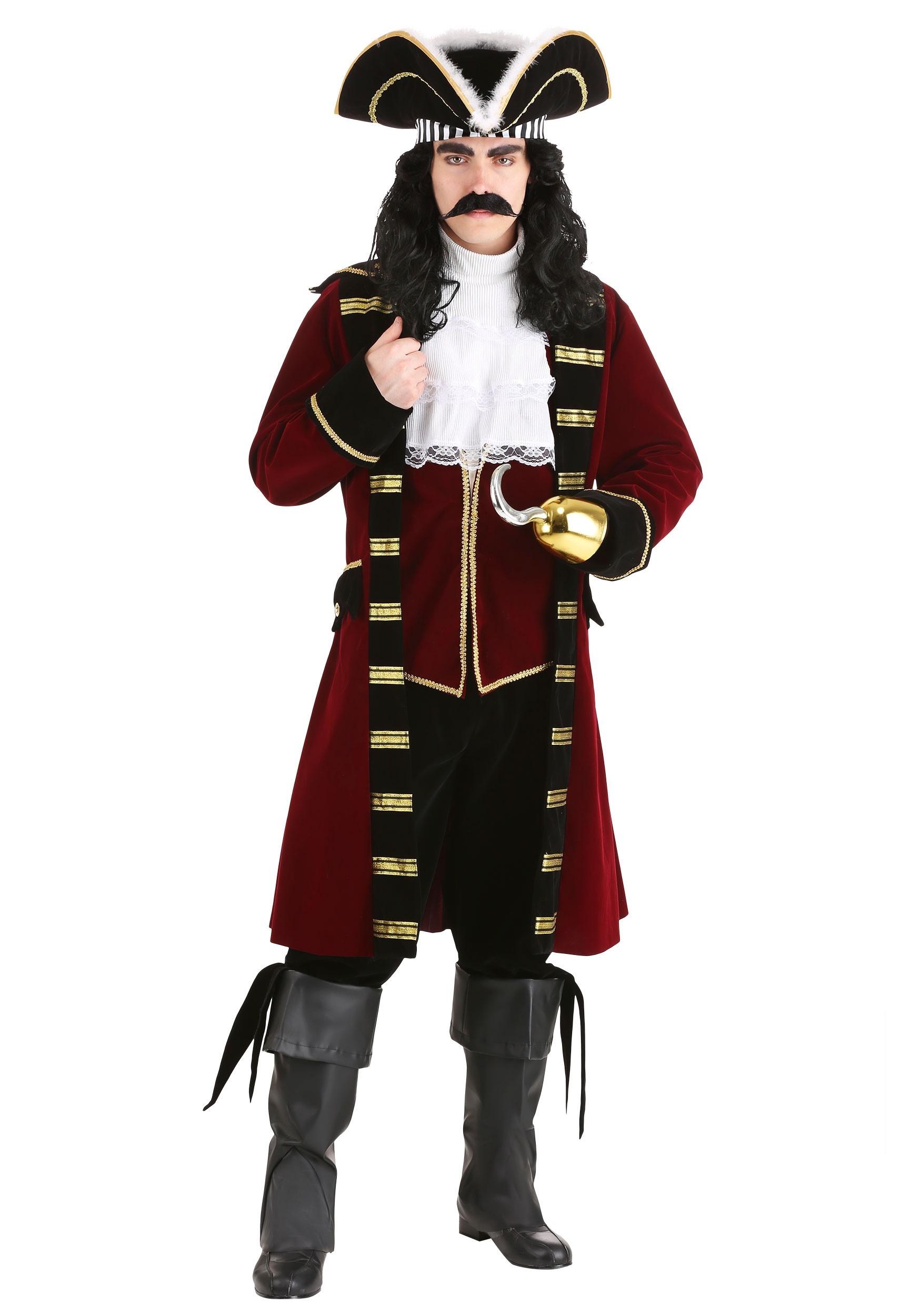Trang Phục Thuyền Trưởng Hook - Thuyền Trưởng Hải Tặc