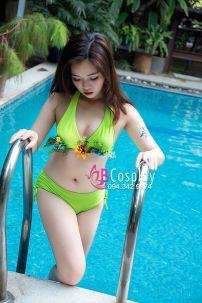 Đồ Bơi Bikini Xanh Mino